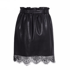 Cassandra Leather Skirt