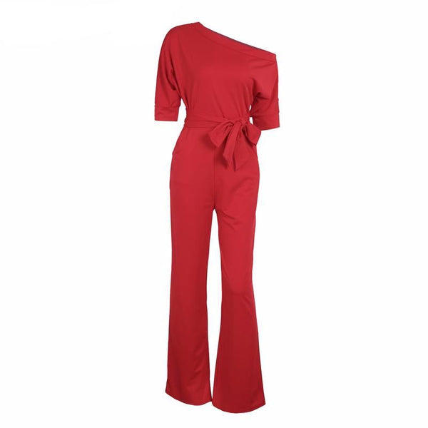 Poinsettia Jumpsuit