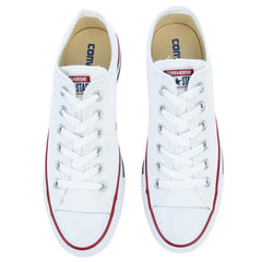 Converse Unisex: Chuck Taylor Lowtop Optical White Canvas