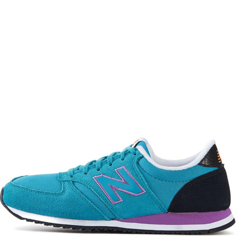 New Balance for Women: 420 Bold Brights Galapagos with Black & Gold Running Shoes