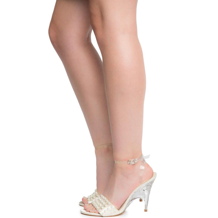 Cape Robbin London-3 Women's Nude High Heel