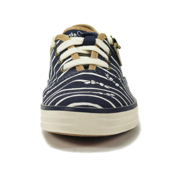 Keds Taylor Swift Collection for Women: CH TS Bow Stripe Navy Sneaker