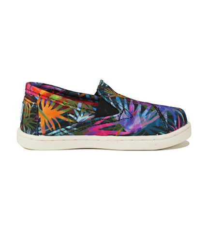 Tiny Toms: Avalon Sneaker Rainbow Venice Palms