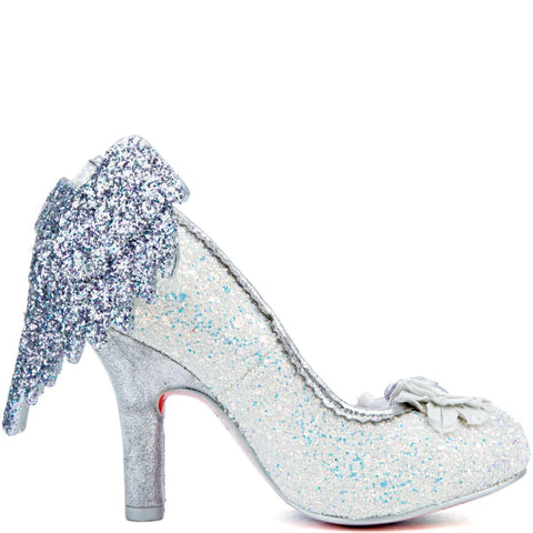 Irregular Choice Icarus Women's Light Blue/White High Heel