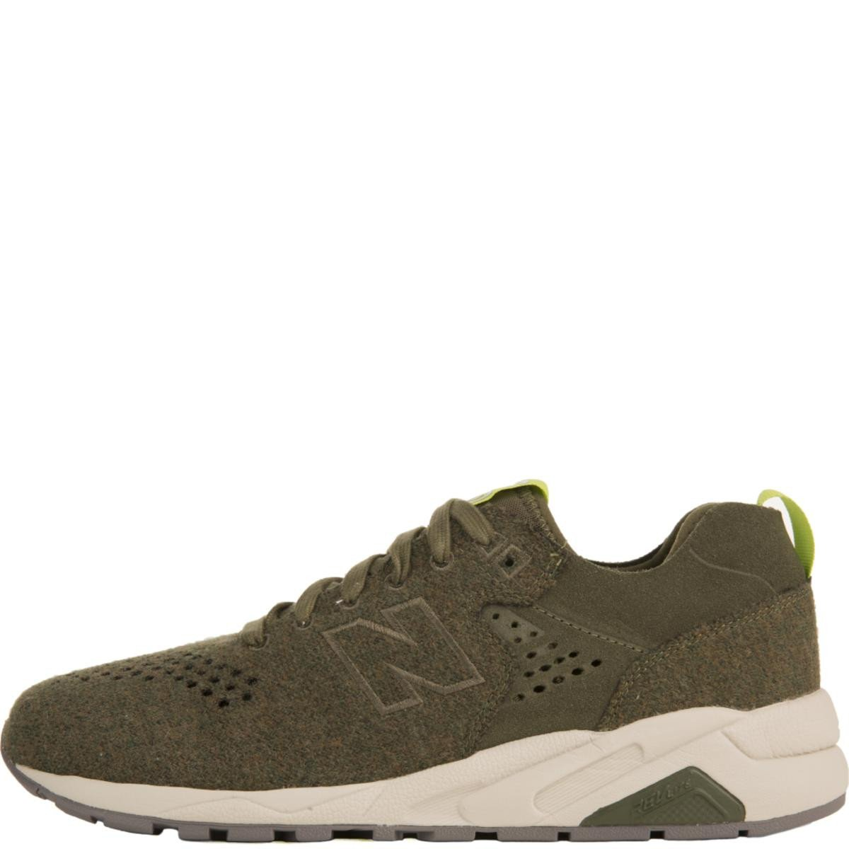 New Balance for Men: 580 Re-Engineered Olive Wool Sneakers