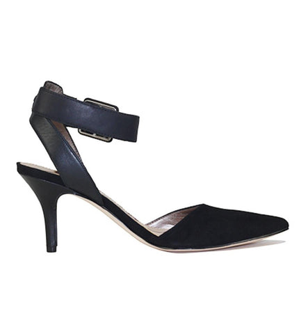 Sam Edelman for Women: Okala Black Suede Heel