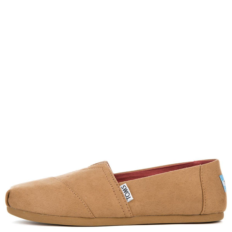 Toms Women's Classic Toffee Microfiber Flats