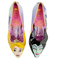 Disney x Irregular Choice Dark vs. Light Shoes