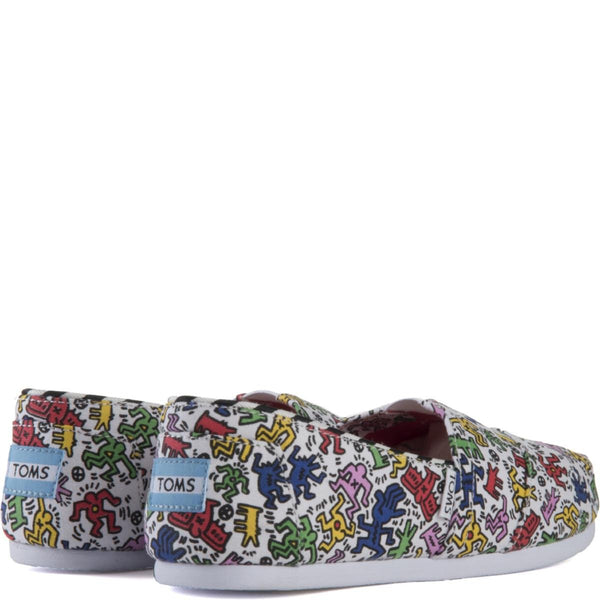 Toms for Women: Classics  Keith Haring Pop Flats