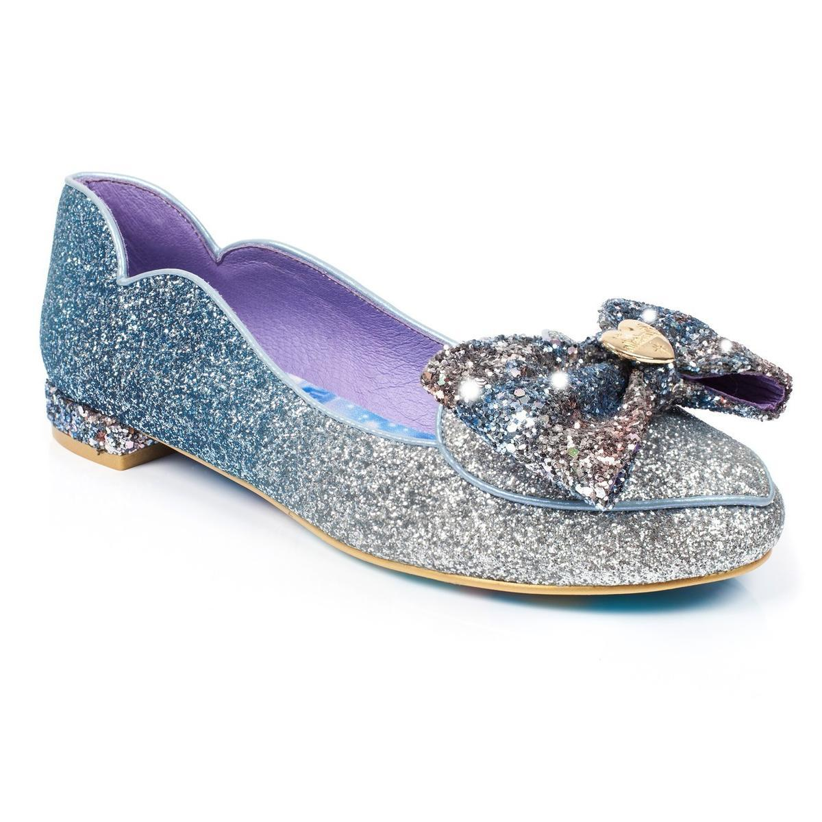Irregular Choice Cinderella Collection: A Glittering Entrance Flats