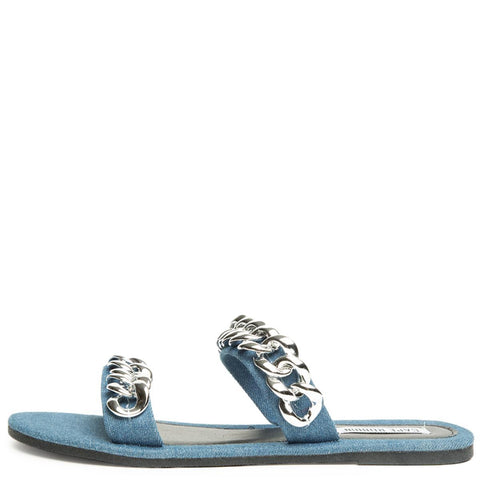 Cape Robbin Leela-8 Denim Women's Sandal