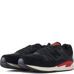 New Balance for Men: 530 Elite Edition Lost Classics Black with Red Sneakers