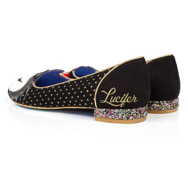 Irregular Choice Cinderella Collection:  Lucifer & Gus Flats