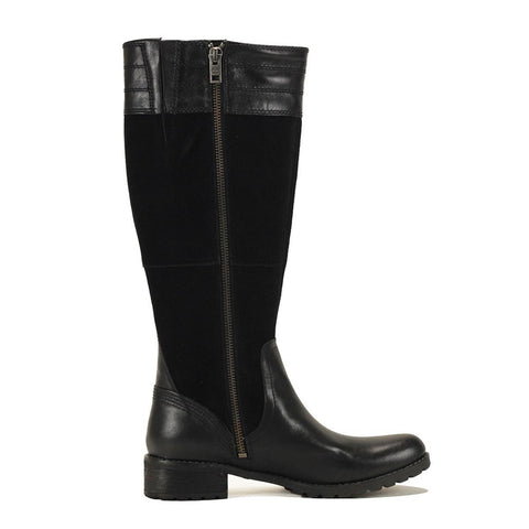 Timberland for Women: Bethel Heights Black Tall Boot