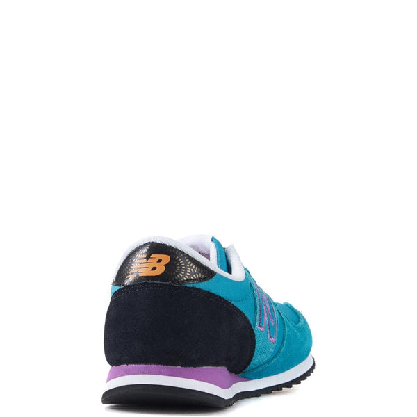 New Balance for Women: 420 Bold Brights Black with Galapagos & Azalea Running Shoes