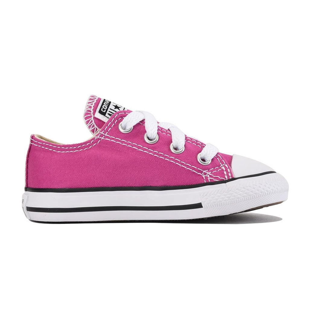 98f9e3c1346f Converse for Infants  Chuck Taylor All Star Ox Plastic Pink Sneaker
