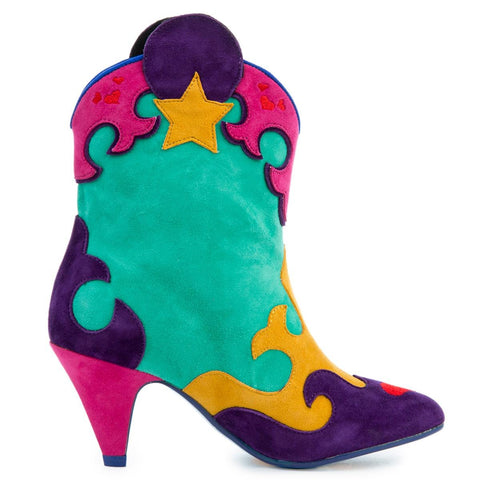 Irregular Choice Mickey Mouse & Friends Collection Women's Hot Diggety Mint Boot
