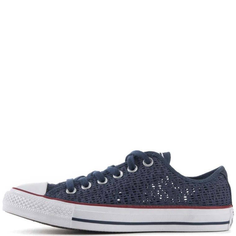 Converse for Women: Chuck Taylor Ox Crochet Navy Sneakers