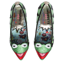 The Muppets x Irregular Choice Kermit The Frog Flat