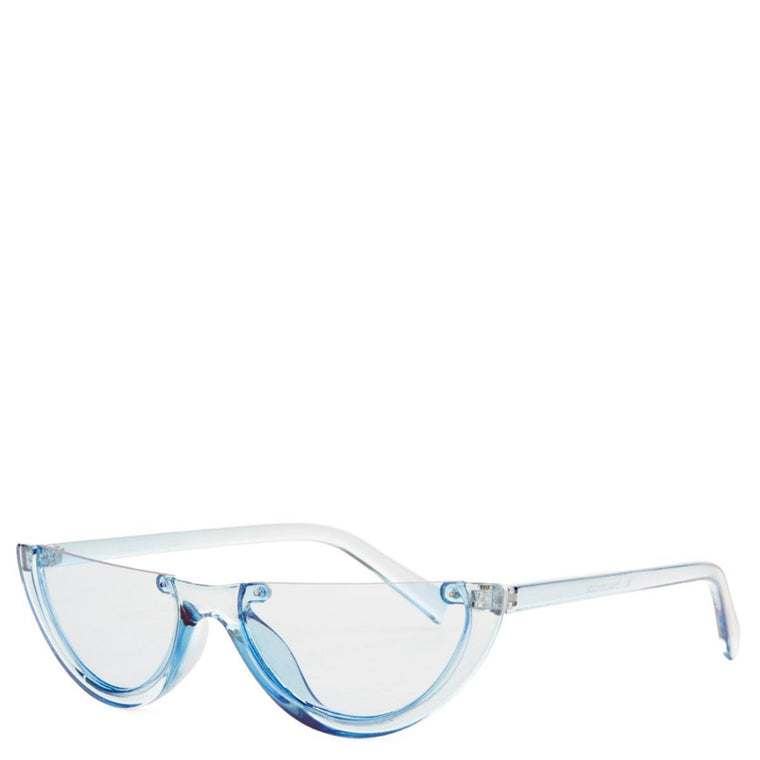 Blue Half Sunglasses