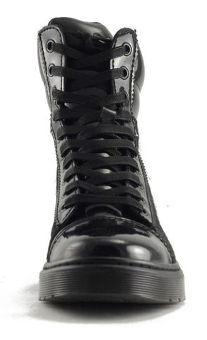 Dr Martens for Women: Fade Pony Black Boot
