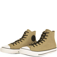 Converse for Men: Chuck Taylor All Star Crafted Khaki Suede High Tops