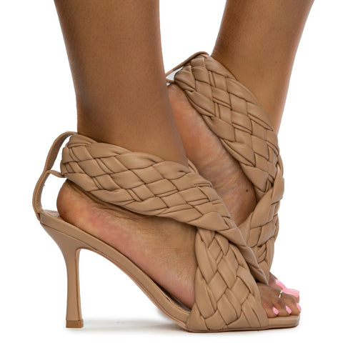 Massima-1 Weaved Upper Heels