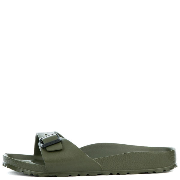 Women's Narrow Madrid Eva Khaki Sandal
