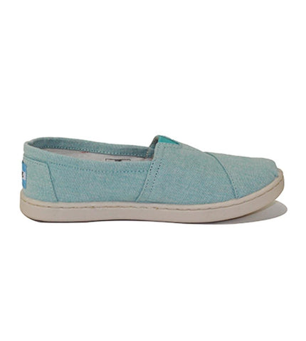 Toms for Kids: Classic Aqua Chambray