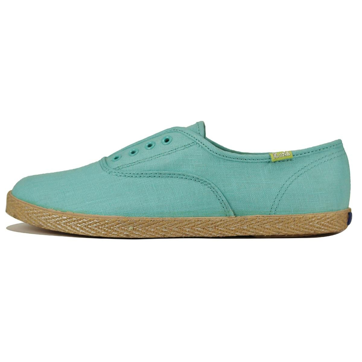 Keds for Women: Champ Jute Aqua Sneakers