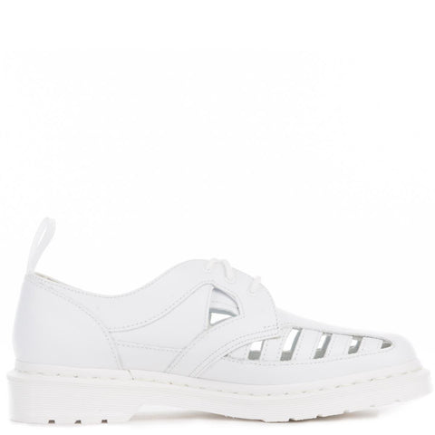 Unisex 1461 Cut Out White Venice Oxfords