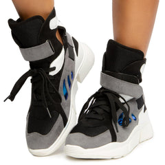 Playground High Top Sneakers