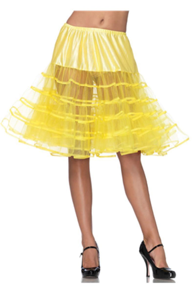 Mid-Length Petticoat in YELLOW