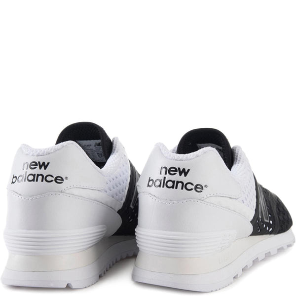 New Balance Unisex: 574 Re-Engineered Breathe Black Sneaker