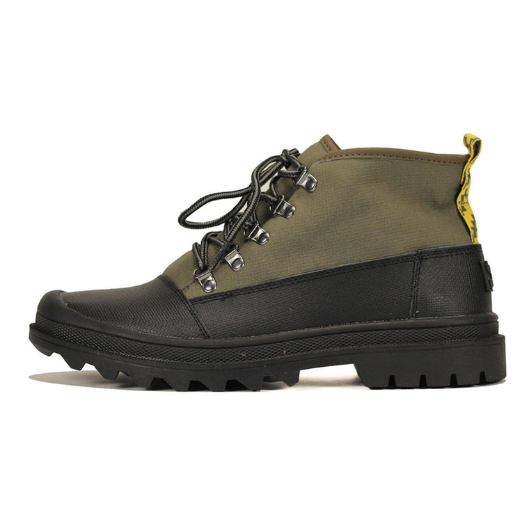 Toms for Men: Cordova Tarmac Olive Black Poly Ripstop Boot