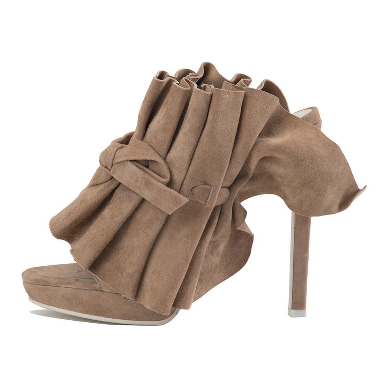 Jeffrey Campbell for Women: Colmena Blush Suede Heels