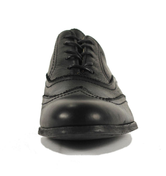 Frye for Men: Harvey Wingtip Black Oxfords