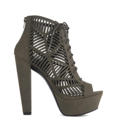 Women's Zamora-H High Heel Lace-Up Bootie