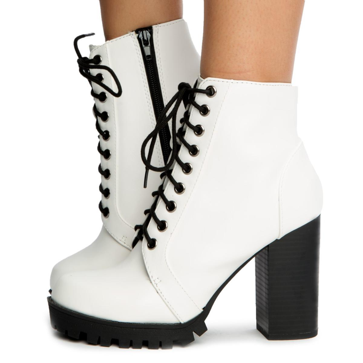 Chalet-S Lace Up Booties