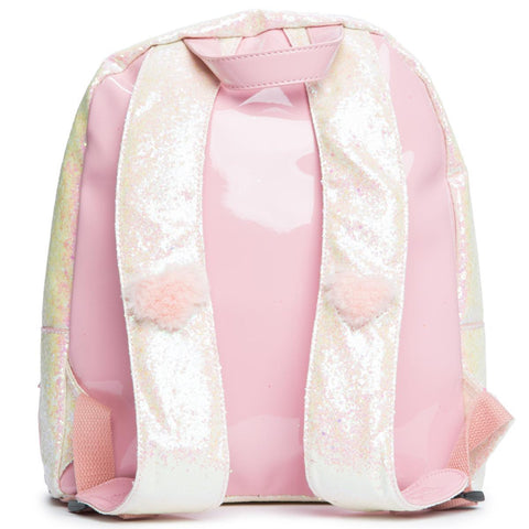 Women's Heart Fuzzy Backpack