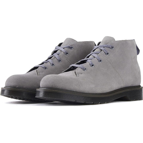 Dr. Martens for Men: Church Suede Grey Mare Chukka Boots