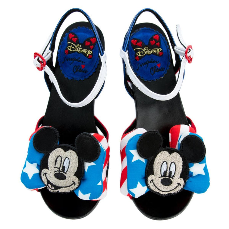 Irregular Choice Mickey Mouse & Friends Collection Women's Oh Toodles Sandals