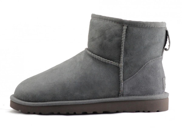 UGG Australia for Women: Classic Mini Grey Boots