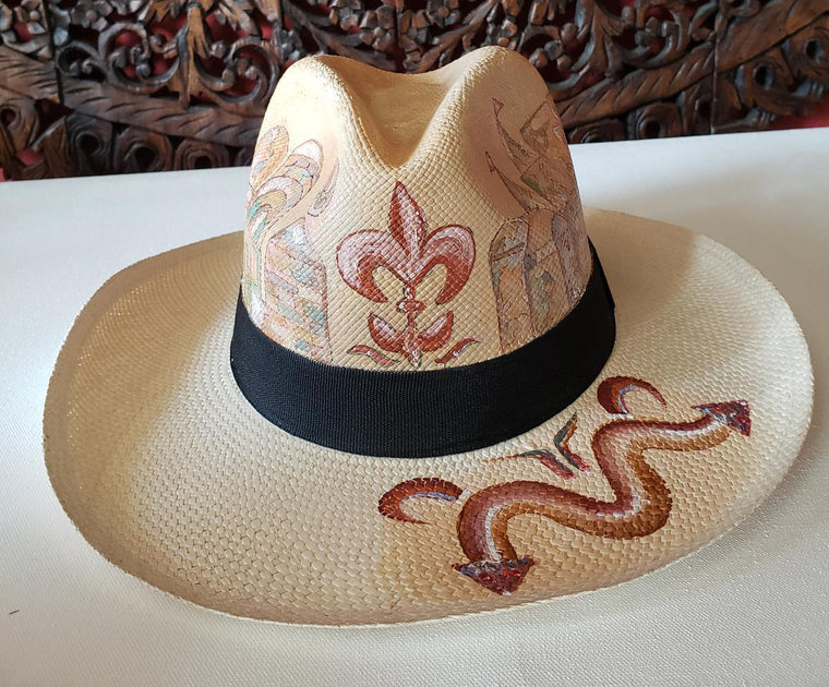 Desert Brown Panama Hat Size S