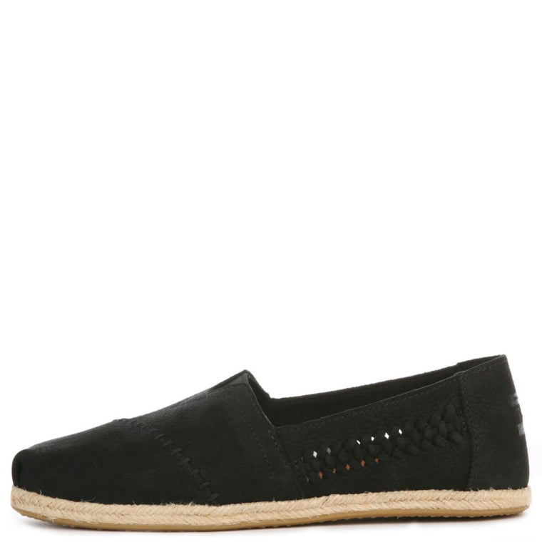 Toms for Women: Classic Black Nubuck