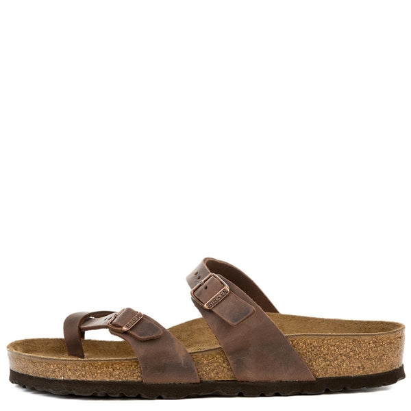 Birkenstock for Women: Mayari Habana Oiled Leather Sandal