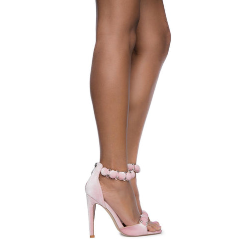 Cape Robbin Alza-45 Women's Blush High Heel