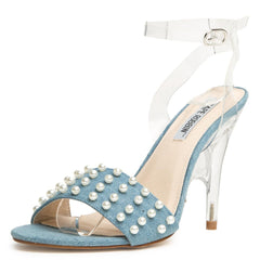 Cape Robbin London-3 Denim Women's High Heel