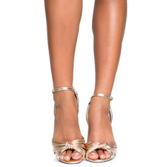 Cape Robbin Alza-38 Women's Rose Gold High Heel