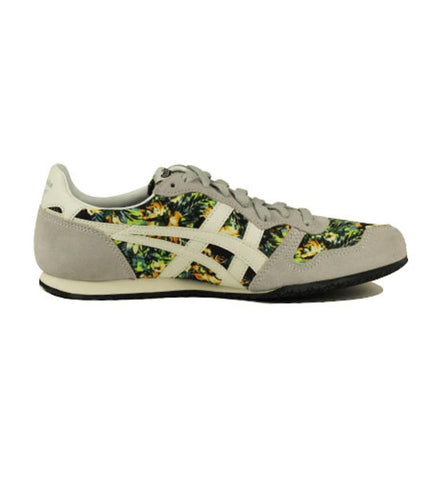 Onitsuka Tigers Unisex: Serrano Floral Soft Grey & Slight White Sneaker